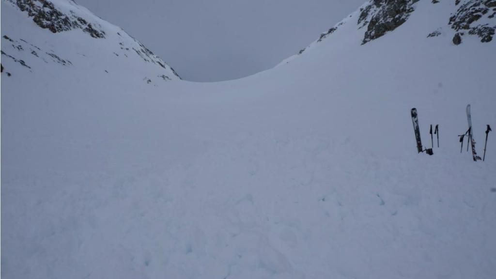 Avalanche na Suíça