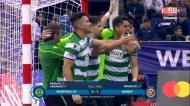 Os golos e a festa do Sporting, campeão europeu de futsal