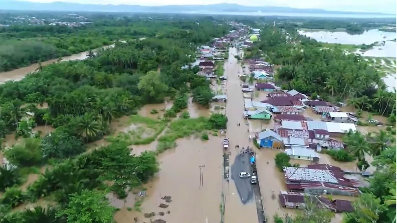 Inundações na Indonésia