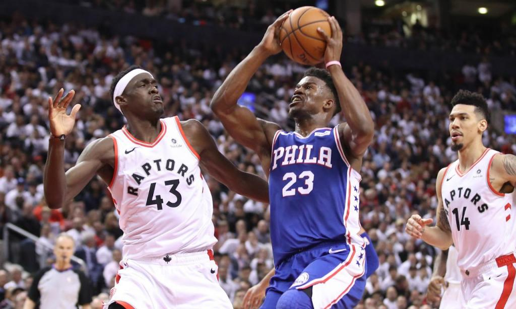 Philadelphia 76ers-Toronto Raptors (Tom Szczerbowski-USA TODAY Sports)