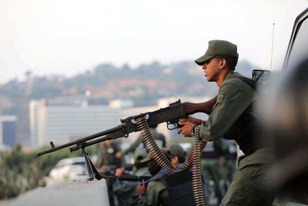 Tensão na Venezuela