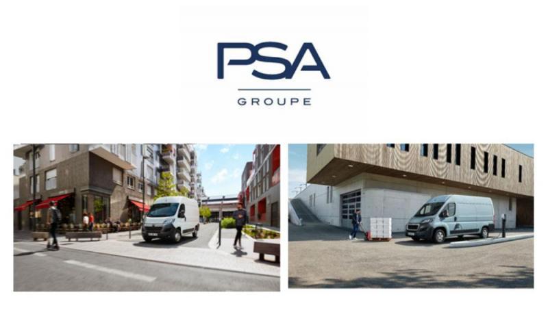 PSA apresenta novos veículos comerciais elétricos