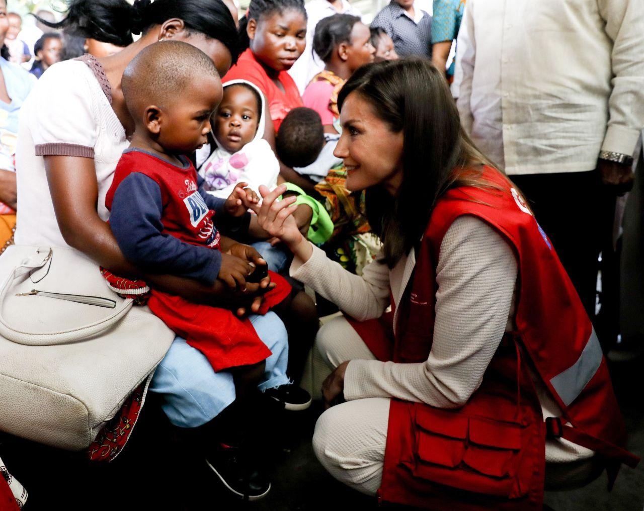 Rainha Letizia em visita oficial a Moçambique