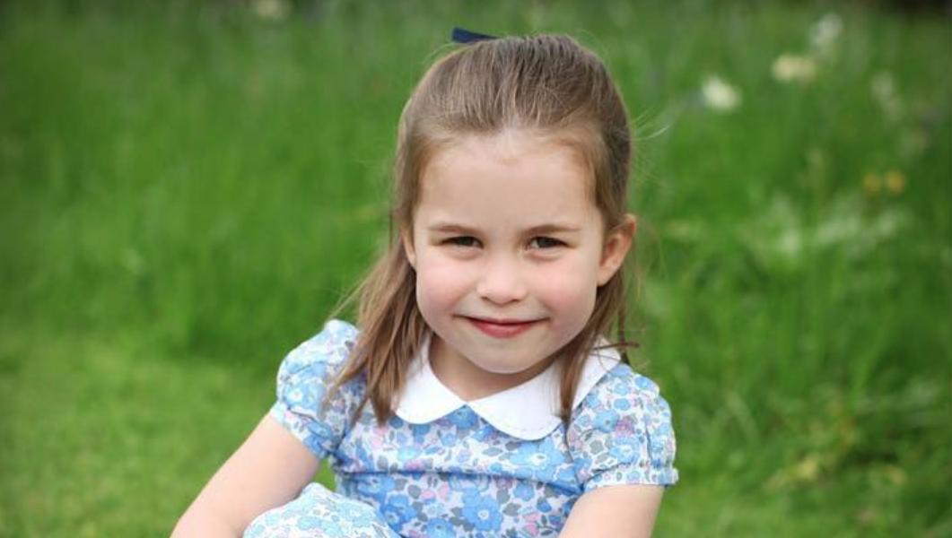 Princesa Charlotte celebra 4.º aniversário