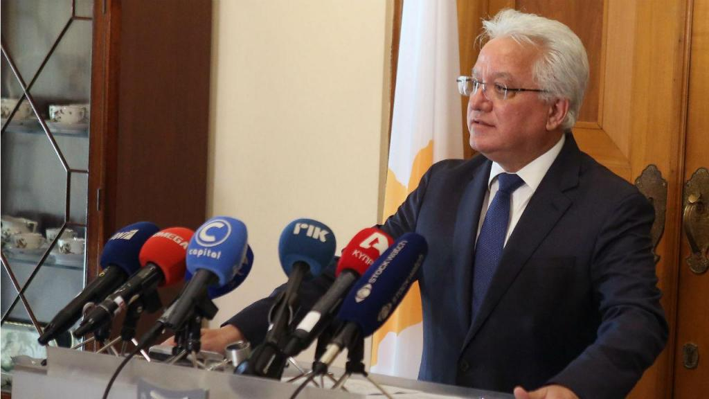 Ionas Nicolaou, antigo ministro da Justiça do Chipre