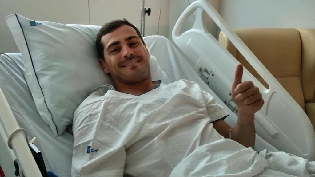 Médico do FC Porto não exclui regresso de Casillas aos relvados