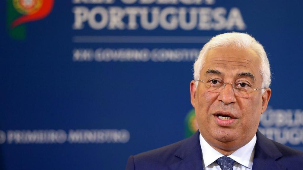 António Costa em declarações ao país