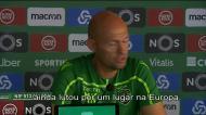 VÍDEO: Keizer confirma disponibilidade de Bas Dost para o Belenenses