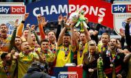 Norwich é campeão do Championship em Inglaterra 2018/2019 (Reuters)