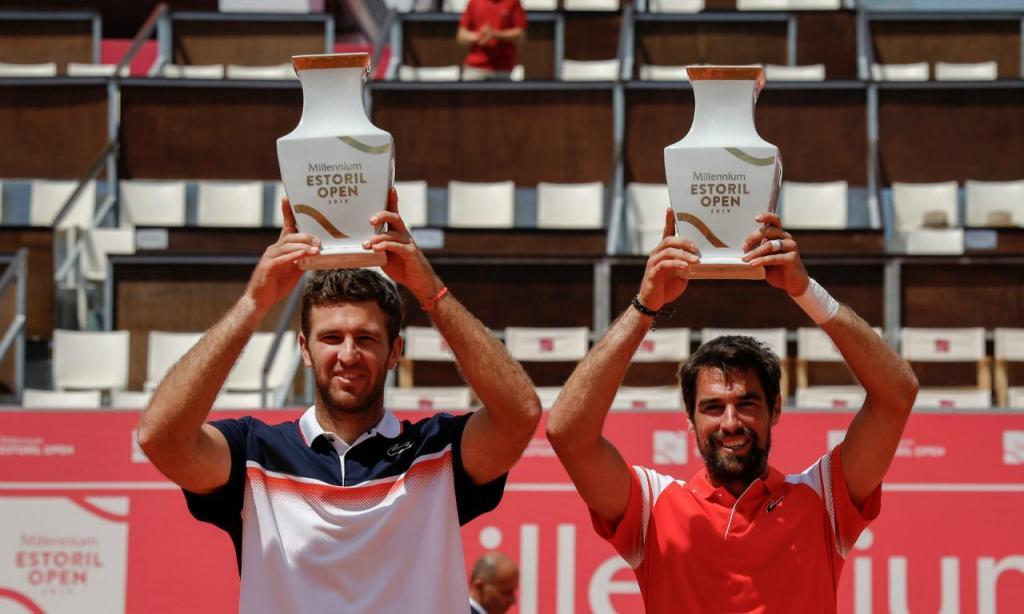 Jérémy Chardy e Fabrice Martin vencem torneio de pares do Estoril Open 2019 (LUSA)