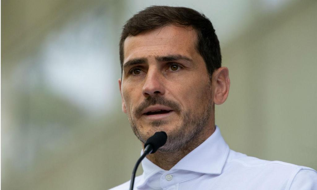 Casillas deixa o hospital (Rui Farinha/Lusa)