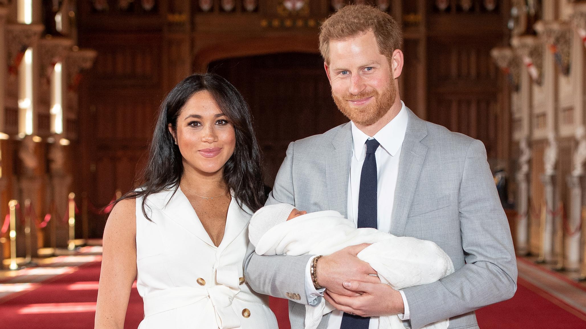 As primeiras imagens do filho de Meghan Markle e do príncipe Harry