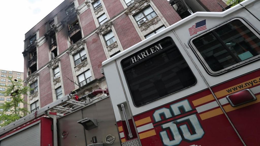 Incêndio em Nova Iorque