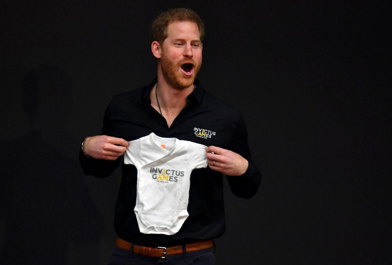 Príncipe Harry já teve de se separar do bebé Archie