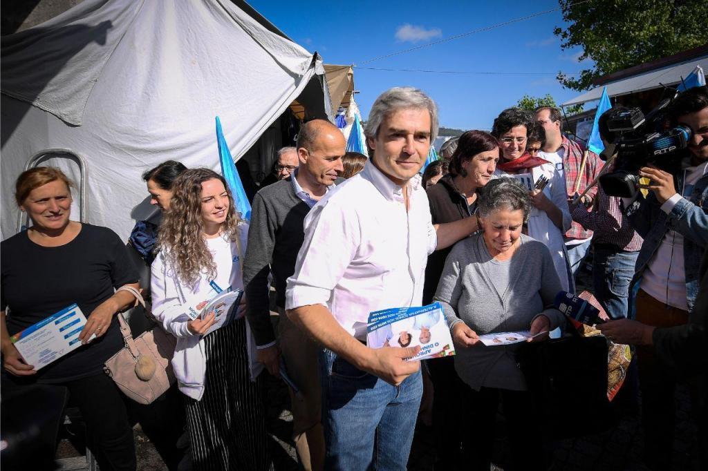 Nuno Melo (CDS) em campanha para as europeias