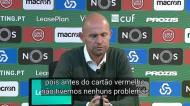 «Expulsão de Ristovski foi o momento-chave do jogo»