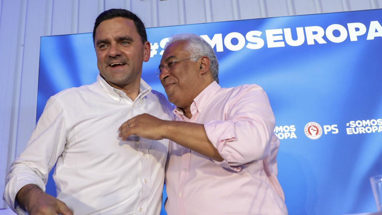 Pedro Marques e António Costa