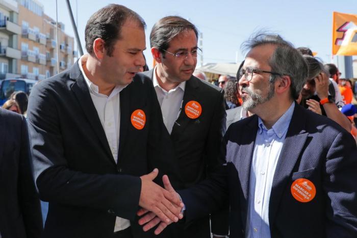 Paulo Rangel em campanha para as Europeias