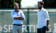 Treino do Sporting (fotos: SCP)