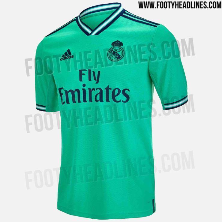 Terceiro equipamento do Real Madrid para 201920
