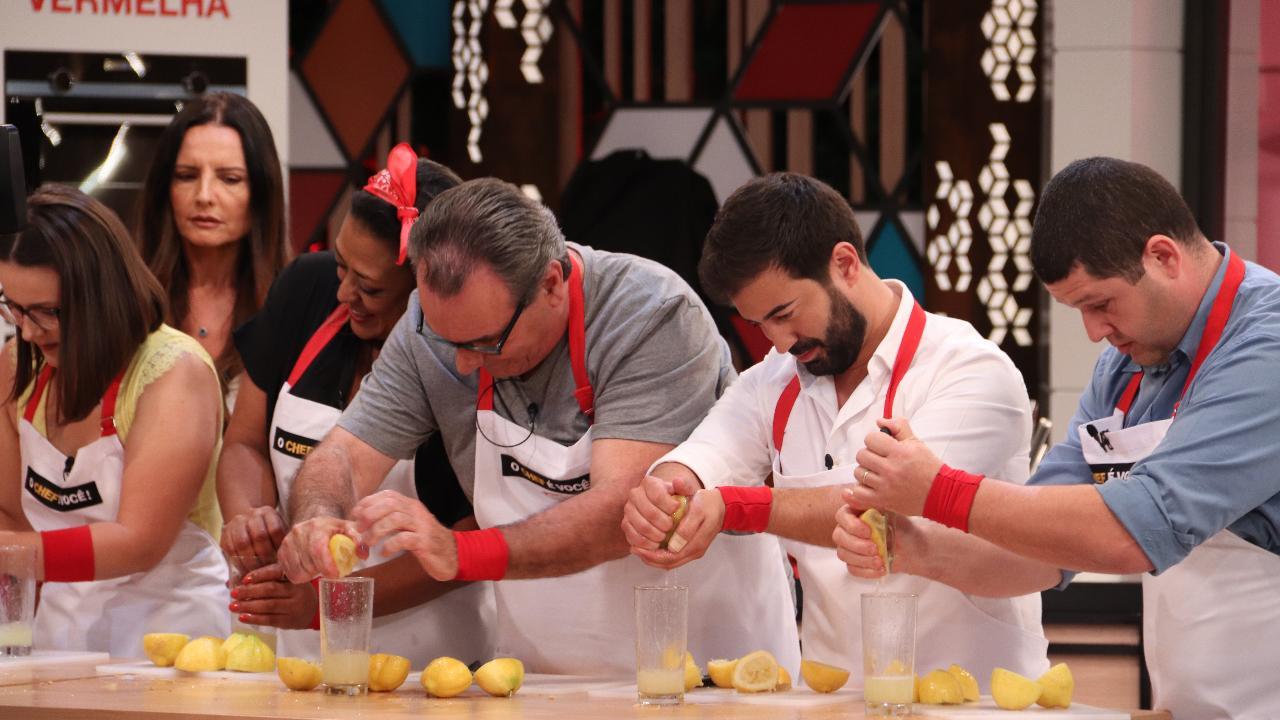 A estreia do concurso «O Chef é Você»