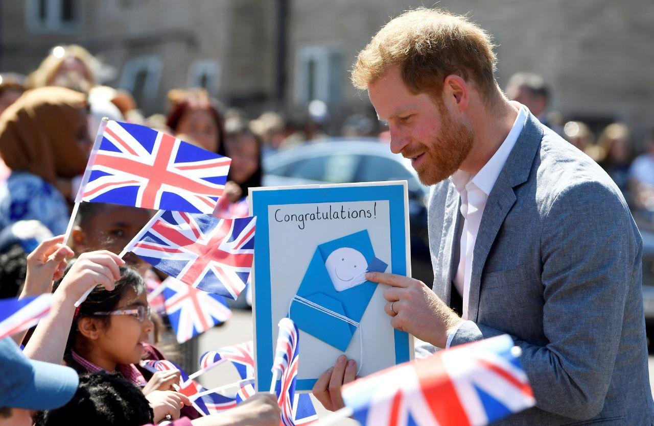 Príncipe Harry em visita a Oxford