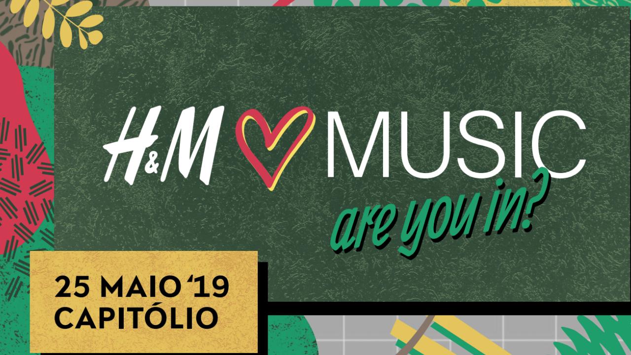 H&M vai dar-lhe música! Festival leva a palco Blaya, Conan Osíris e Carlão