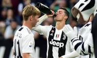 Cristiano Ronaldo festeja «scudetto»