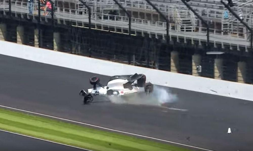 Acidente de Kyke Kaiser na Indy 500