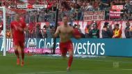 Ribery e Robben marcam no dia em que se despedem do Bayern de Munique
