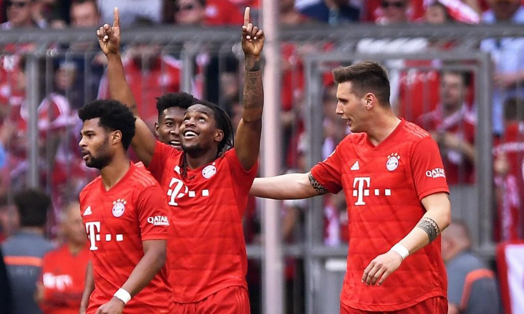 Bayern-Eintracht (EPA/LUKAS BARTH-TUTTAS)