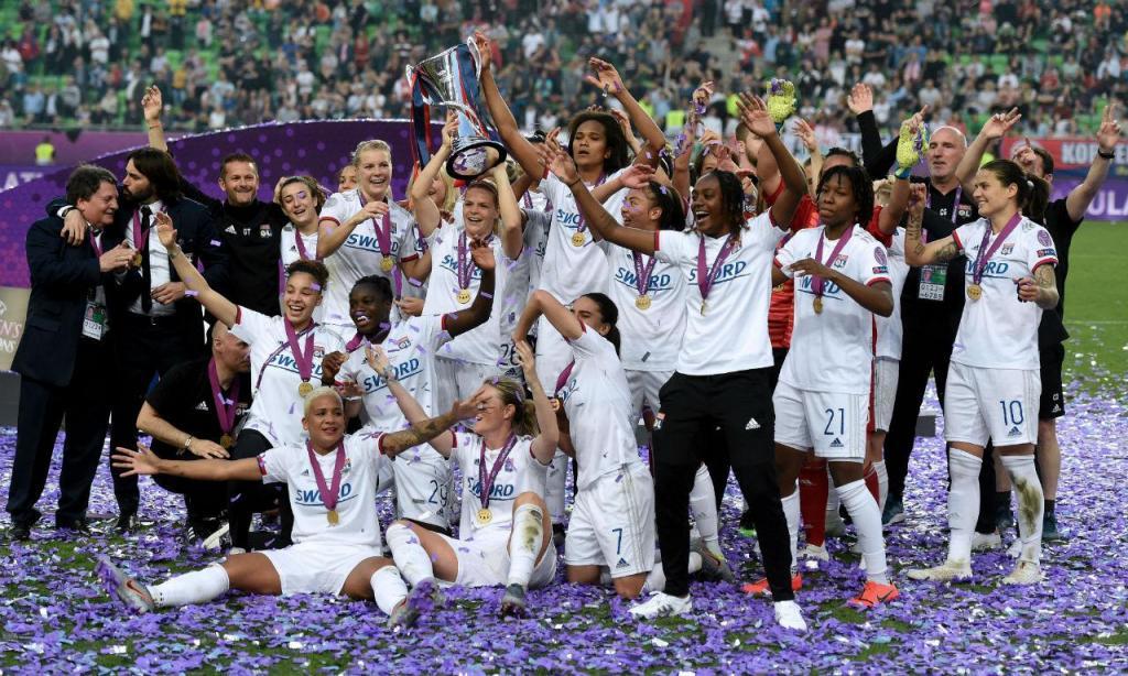 Lyon conquista a «Champions» feminina (EPA/Balazs Czagany)
