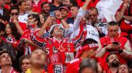 Benfica vence (4-1) e é campeão nacional