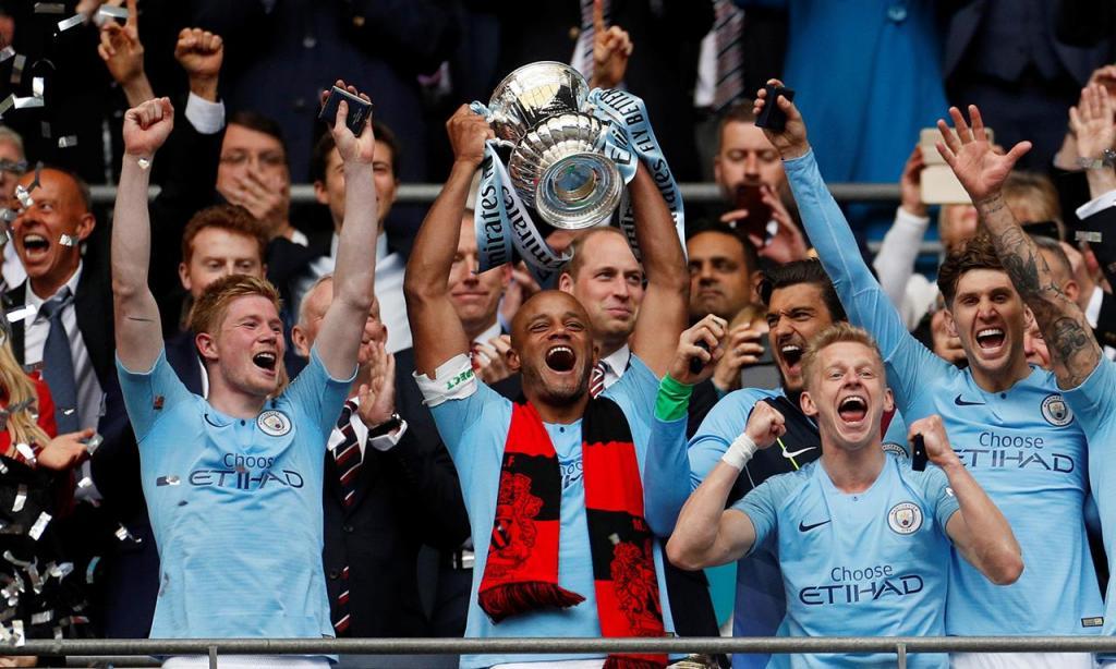 Manchester City vence a Taça de Inglaterra