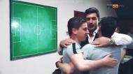 Paulo Fonseca festeja tricampeonato do Shakhtar