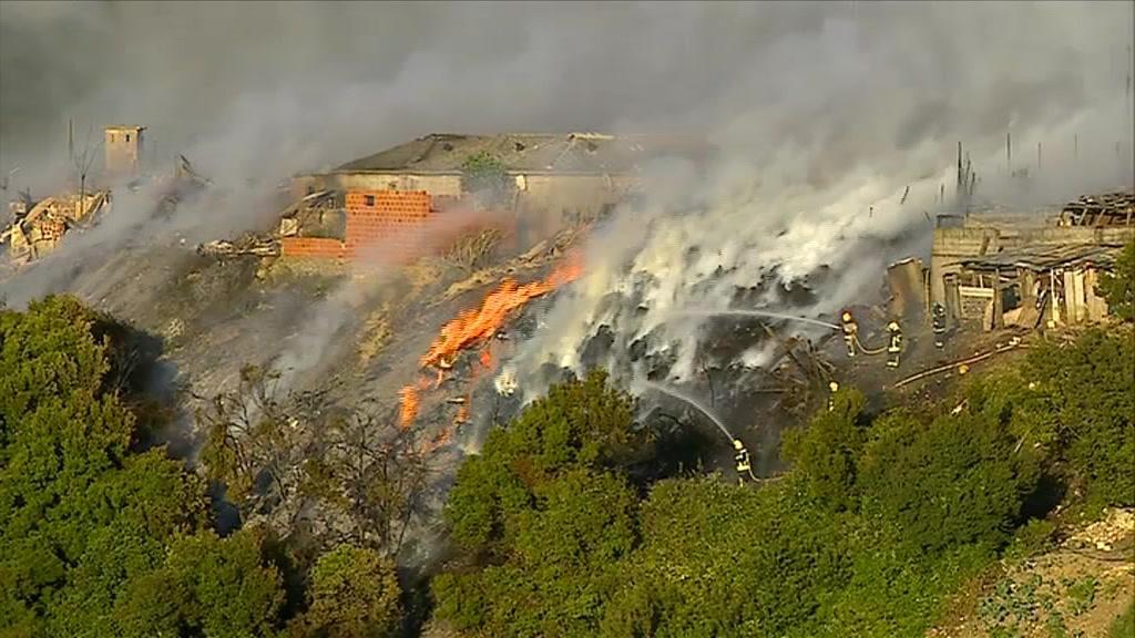 Incêndio em Sacavém deixa mais de 30 pessoas desalojadas