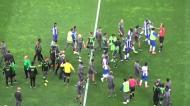 Novas imagens da confusão no final do FC Porto-Sporting