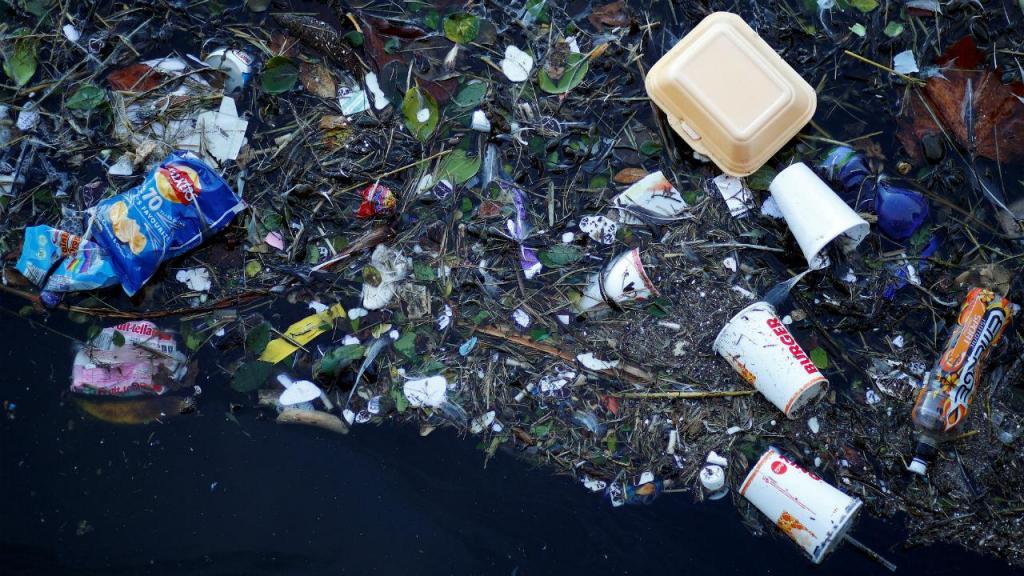Poluição de plástico