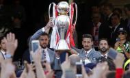 Benfica recebido na CML (ANTONIO PEDRO SANTOS/LUSA)
