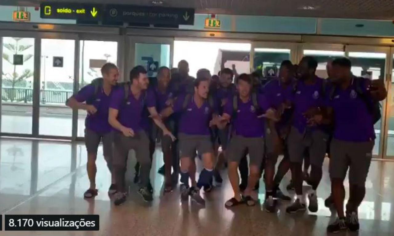 FC Porto andebol aeroporto