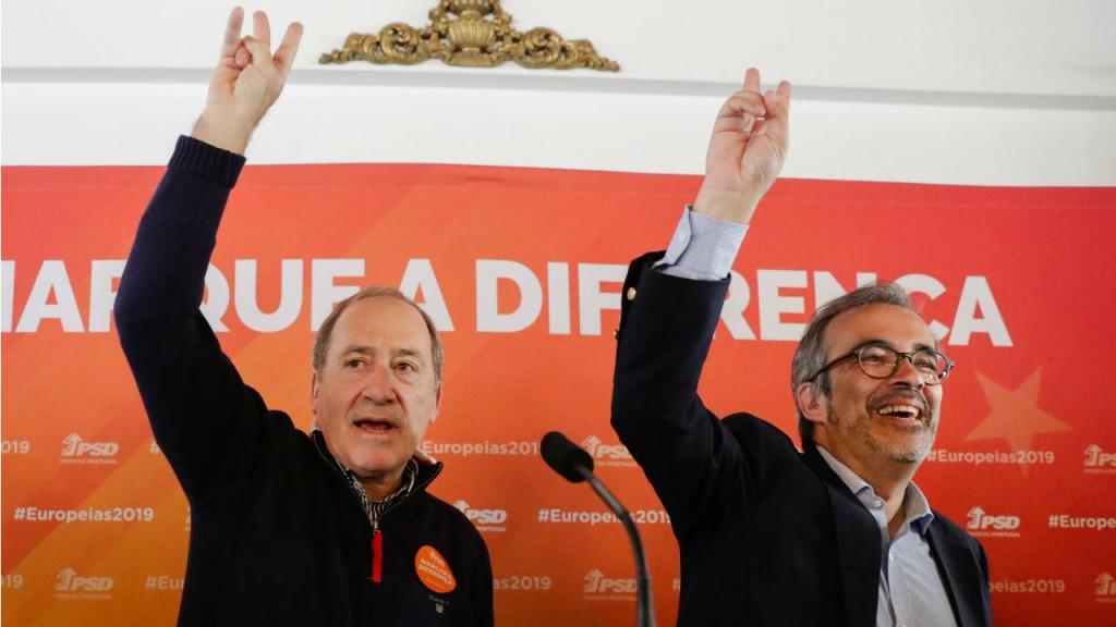 Paulo Rangel em campanha para as eleições europeias