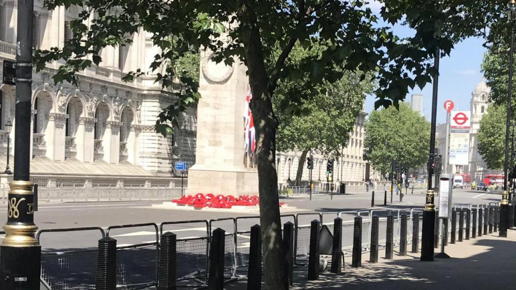 Pacote suspeito em Whitehall