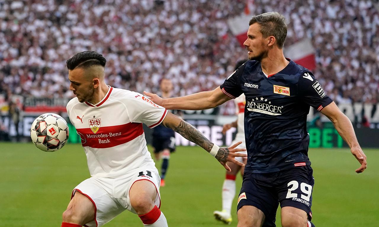 União Berlim empata em Estugarda na luta pela Bundesliga