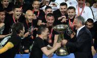 Partizan festejou conquista da Taça da Sérvia