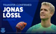 Jonas Lössl é reforço do Everton (twitter)