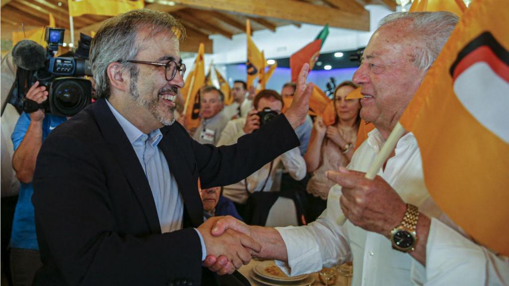 Rangel em campanha para as europeias