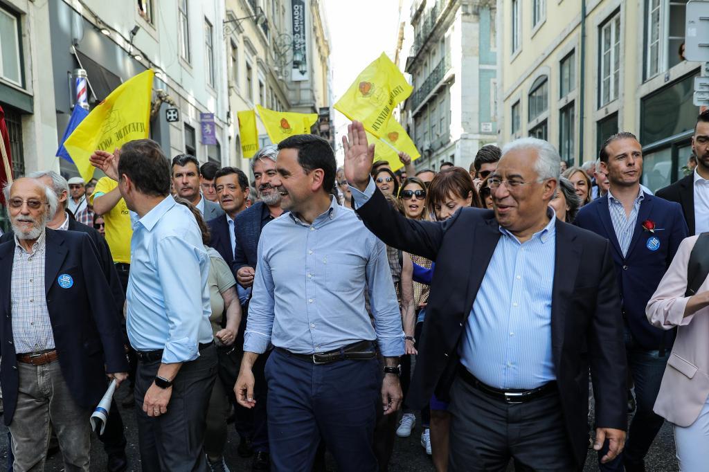António Costa na campanha eleitoral