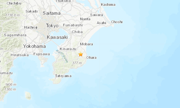 Sismo Japão