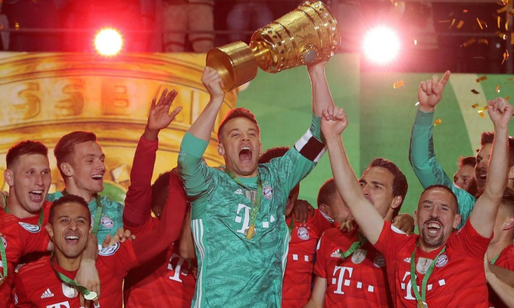 Bayern fez a «dobradinha» na Alemanha