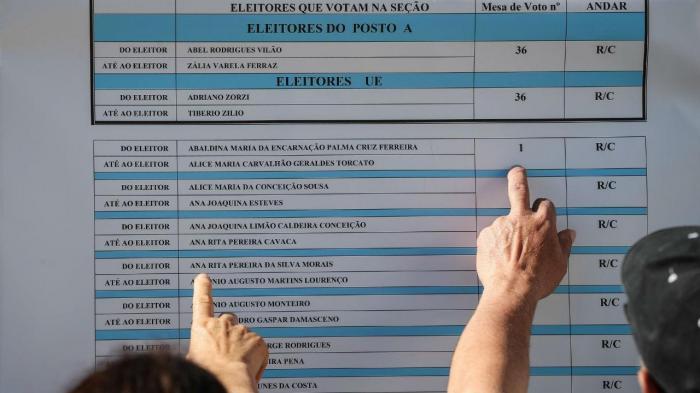 Lista de eleitores
